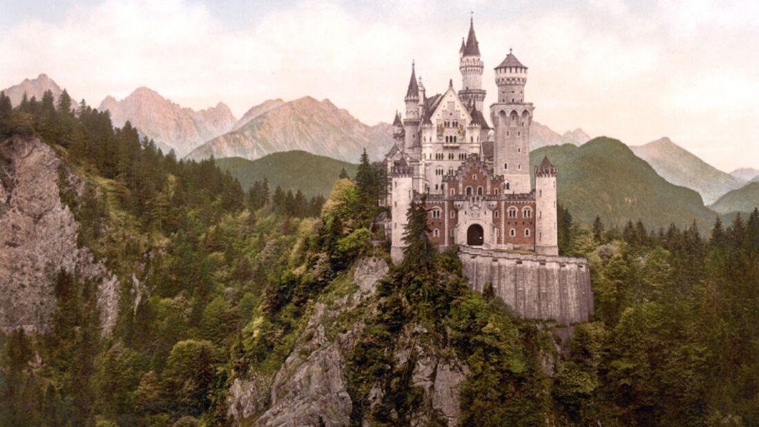 landmark--Hohenschwangau--Schloss Neuschwanstein