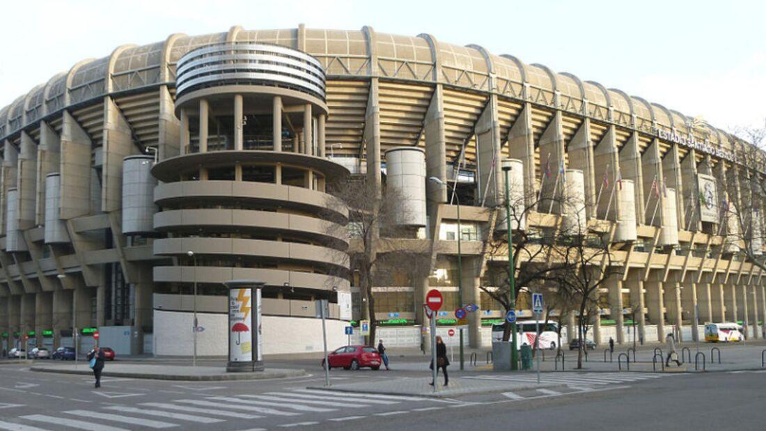 landmark--Madrid--Estadio Santiago Bernabéu