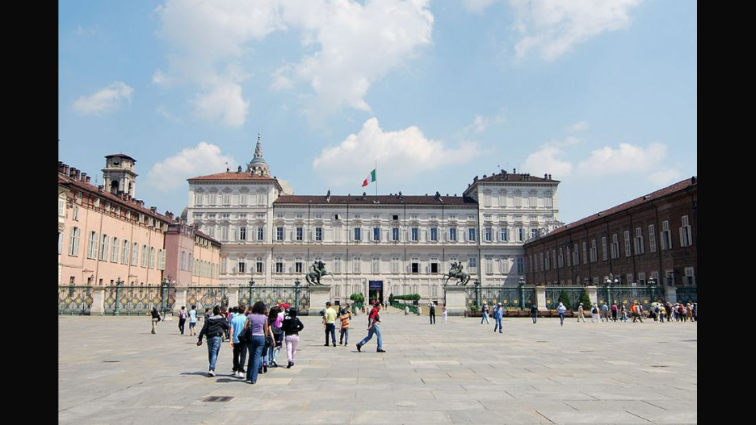 landmark--Turin--Piazza Castello