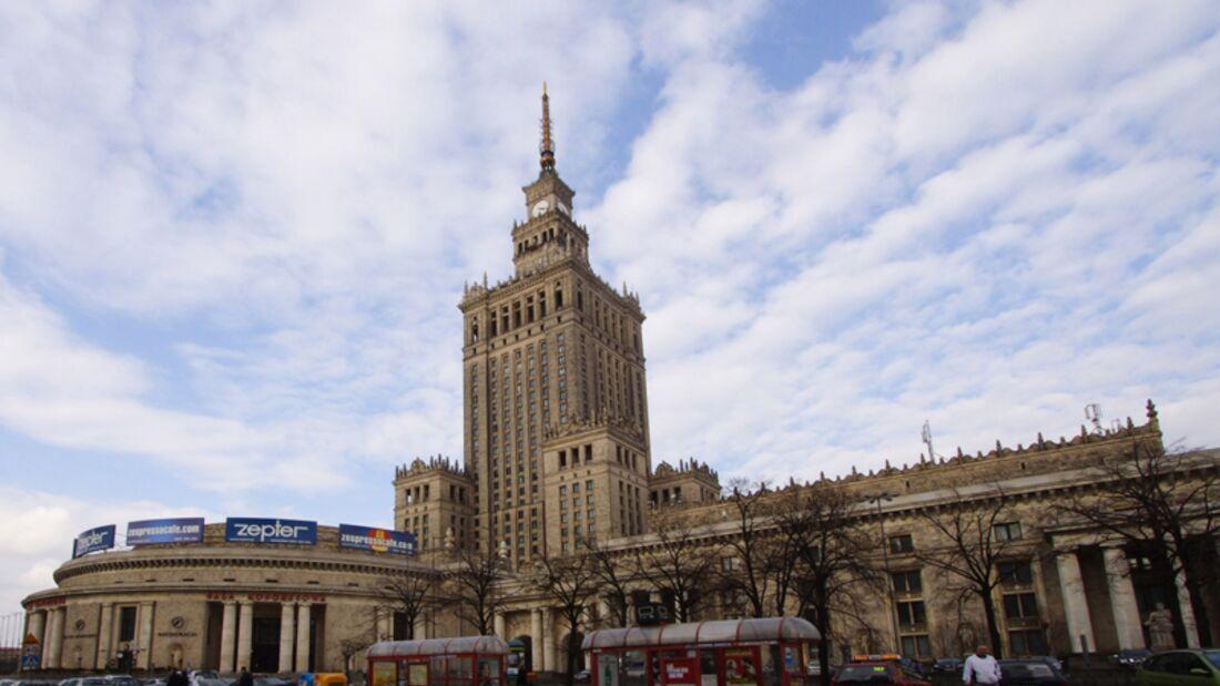 landmark--Warschau--Kulturpalast